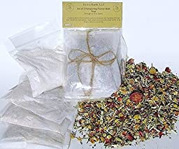 Therapeutic Relaxing Pampering Flower Bath Teas