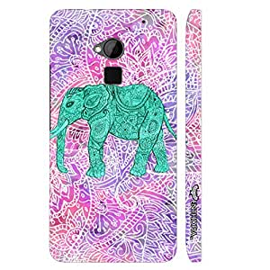 HTC ONE MAX Elephant Art 6 designer mobile hard shell case by Enthopia