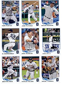 2013 Topps Baseball Cards Update Series- Detroit Tigers Team MLB Trading Set - 15... by Topps