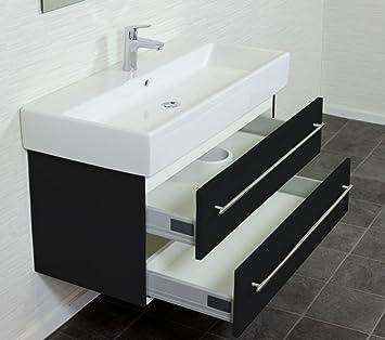 villeroy und boch memento 100 cm schwarz seidenglanz dc530. Black Bedroom Furniture Sets. Home Design Ideas