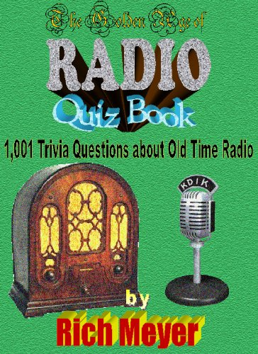The Golden Age of Radio Quiz Book cover