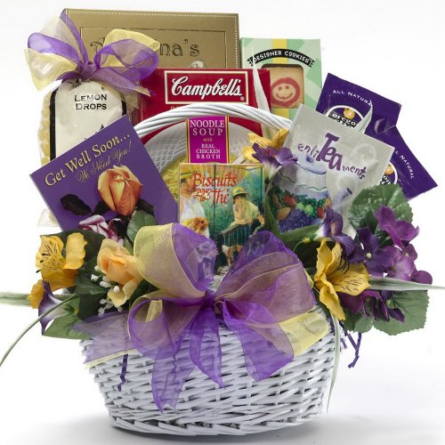 Art of Appreciation Gift Baskets Get Well Soon Gourmet Food Basket