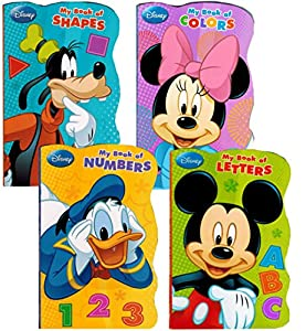 """Disney® Mickey Mouse """"My First Books"""" (Set of 4 Shaped Board Books) from Bendon Publishing"""