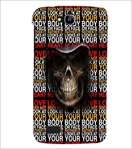 PrintDhaba Typography D-3505 Back Case Cover for HUAWEI HONOR HOLLY (Multi-Coloured)