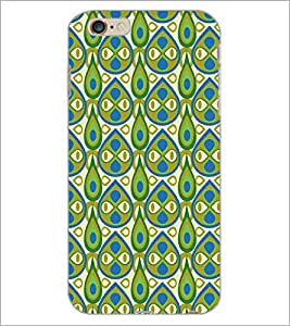 PrintDhaba Pattern D-5406 Back Case Cover for APPLE IPHONE 6 (Multi-Coloured)