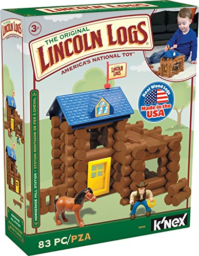 lincoln-logs-horseshoe-hill-station-83-pieces-ages-3-preschool-education-toy