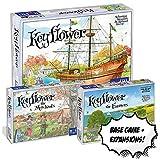 Keyflower Base Game + Keyflower The Merchants + Keyflower The Farmers Board Game Bundle Combo!