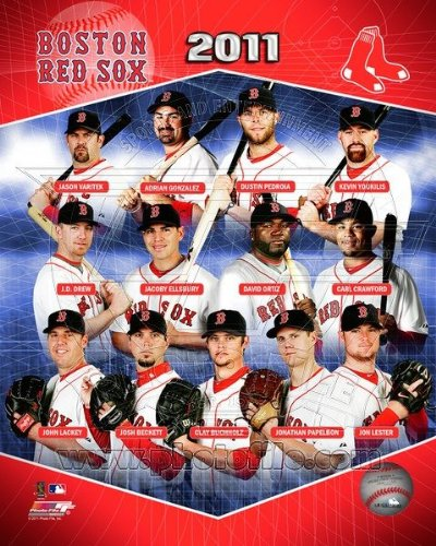 Boston Red Sox - 2011 Team Composite - MLB 8x10 Photo