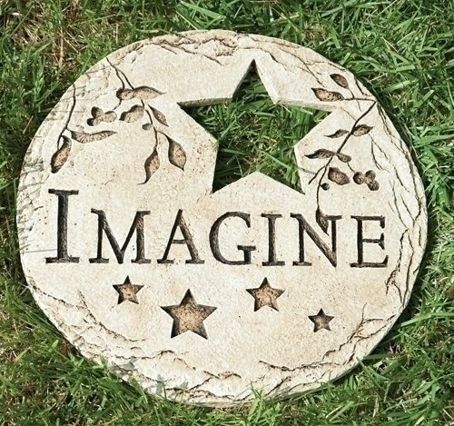 12 Star Cut Out Imagine Decorative Garden Patio Stepping Stone Home Stones