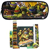Ninja Turtles Pencil Case and Stationery Set