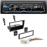 PowerAcoustik PL-81BP 1-DIN FM/AM & MP3 Car Stereo w/Bluetooth Conectivety & USB Playback Ai HONK809 Single DIN Installation Dash Kit for Select 2001-2005 Honda Civic Vehicles