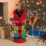 Ugly Sweater Wine Bottle Bag Gift Cover