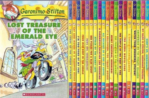 Fraidy Mouse!; Merry Christmas, Geronimo!; The Phantom of the Subway