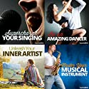 The Creative Person's Hypnosis Bundle: Set Your Talent on Fire, with Hypnosis  by  Hypnosis Live Narrated by  Hypnosis Live