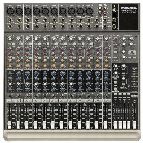 Mackie 1642-VLZ3 16-Ch. Compact Recording/SR Mixer