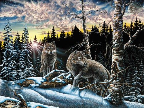 American Puzzles, 15 Wolves Puzzle, 1000 Pieces Puzzle