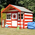 6ft x 5ft Wooden Honeysuckle Playhouse - Brand New 6x5 Wood Cottage Playhouses