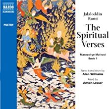 Spiritual Verses Audiobook by Jalaloddin Rumi Narrated by Anton Lesser