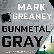 Gunmetal Gray Audiobook by Mark Greaney Narrated by To Be Announced