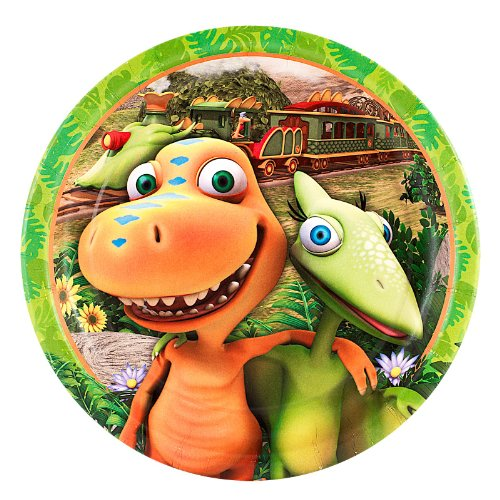 Dinosaur Train - Dessert Plates (8) Party Accessory