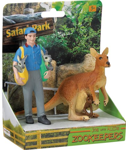 Safari Ltd. Safari Land Joe and Aussie Zookeeper