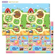 Baby Care Play Mat – Busy Farm (Large)