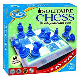 [Best price] Puzzles - ThinkFun Solitaire Chess - toys-games