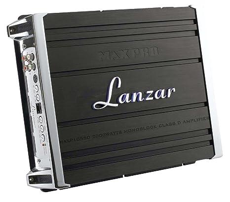 Lanzar MAXP1055D Amplificateur (classe D, Monoblock, 2.000 W)