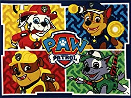 Paw Patrol Character Area Rug