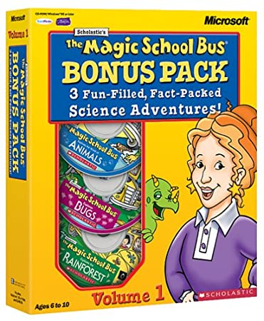 The Magic School Bus 3-CD Bonus Pack Vol 1: Animals, Bugs & Rainforests