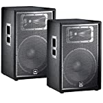 JBL JRX215 15' Passive Two-Way Speaker Pair PA Package by JBL Pro