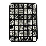 Davidsonne New Nail Art Tipps Bildstempel Platten polnischen Nagelstempel Stempel Stamp Schablone Plates Stamping Manicure Bild DIY XY14