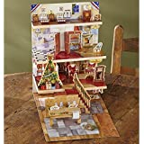 Advent Calendar For Kids - The Night Before Christmas Pop-Up Edwardian House
