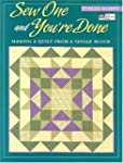 SEW ONE AND YOU'RE DONE: MAKING A QUI...