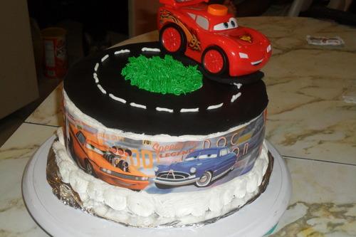 Disney Cars Edible Cake