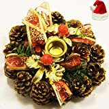 Ghasitaram Gifts Pine Candle Ring Stand