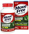 Move Free Glucosamine Chondroitin MSM and Hyaluronic Acid Joint Supplement, 120 Count Pack of 3 , Move-f35j