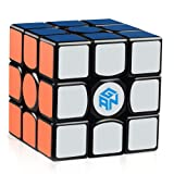 D-FantiX Gans 356 Air Master 3x3 Speed Cube, Gan 356 Air 3x3x3 Speed Cube Magic Cube Puzzles Black with New Blue Cores (Color: Black)