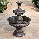 Garden Classic 3-Tier Outdoor Fountain