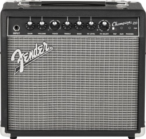 Fender Champion 20, Guitar Amplifier, Black