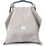 Baby Car Seat Cover Canopy by Canopway Style Extra Large for Girls and Boys
