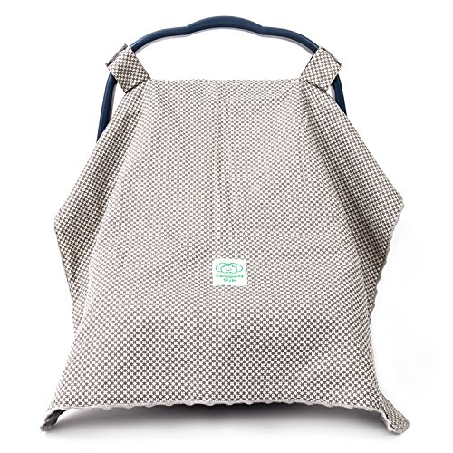 Baby Car Seat Cover Canopy by Canopway Style Extra Large for Girls and Boys (Infant Boys Car Seat Covers compare prices)