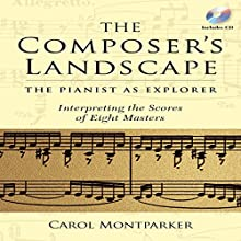The Composer's Landscape: The Pianist as Explorer: Interpreting the Scores of Eight Masters Audiobook by Carol Montparker Narrated by Carol Montparker