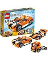 Lego Creator - 31017 - Jeu De Construction - La Décapotable Orange