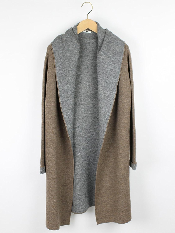 Amazon.co.jp: (ミルポア) MIREPOIX ダブルフェイスニットジャケット: 服&ファッション小物通販
