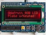 Raspberry Pi用16×2 LCDキーパッドキット (RGB Negative)