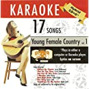 ASK-1552 Country Karaoke: Young Female Country, Vol. 1; Carrie Underwood, Kellie Pickler & Taylor Swift