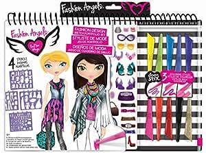 Fashion angels fashion angels barbie glamtastic fashion sketch portfolio set best price in india for Fashion angels interior design sketch portfolio