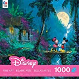 Ceaco Disney Mickey Mouse, Fine Art, Moonlight Proposal Puzzle (1000 Piece)