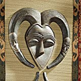 Design Toscano EU34032 African Tribal Wall Mask Kwele